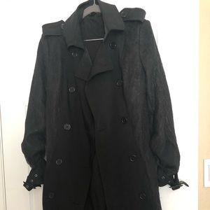 Victoria's Secret Trench Coat Size 8